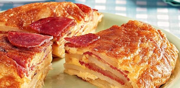 receita-fritada-de-batata-e-salame